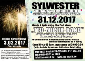 Zabawa Sylwestrowa 31.12.2017
