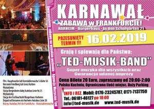 Zabawa Karnawalowa – Frankfurt am Main 16.02.2019