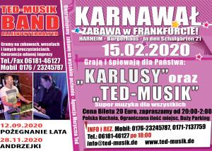 Zabawa Karnawalowa – Frankfurt am Main 15.02.2020