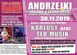 Zabawa Andrzejkowa – Frankfurt am Main 30.11.2019