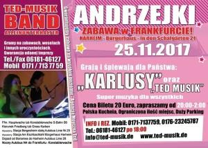 Zabawa  Andrzejkowa  Frankfurt  am  Main – 25.11.2017