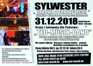 Zabawa  Sylwestrowa – Frankfurt  am  Main – 31.12.2018